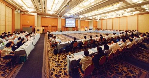 都道府県CIOフォーラム 第16回年次総会の様子。富山市の「ANAクラウンプラザホテル富山」で開催した