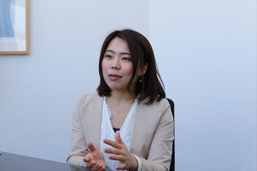 製造業界を担当する、リクルートキャリア エージェント事業本部 EMC営業部の池井修子氏