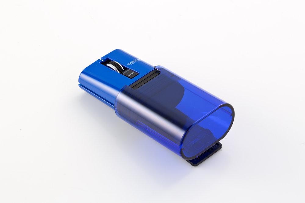 エレコムの「M-CC2BRSBU」(実勢価格は約3500円)は超小型のBluetoothマウス