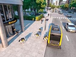 メガサプライヤーはMaaS用無人運転車を自ら開発