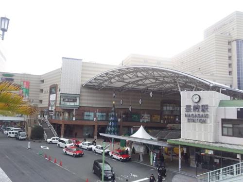 JR長崎駅東部の現況。2019年12月に撮影(写真:JR九州)