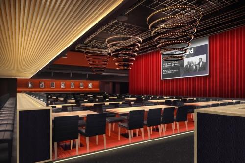 約300席あるライブレストラン「Billboard Live YOKOHAMA」が分譲マンションやホテルの足元にできる(資料:Billboard Live YOKOHAMA)