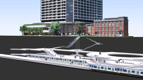 開業と同時に、地下鉄の馬車道駅と直結する連絡通路が開通する(資料:三井不動産レジデンシャル、丸紅)