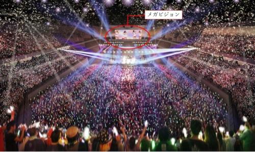 音楽コンサート開催時のイメージ(資料:沖縄市)