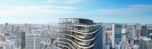 建物上部の外観イメージ(資料:東京建物)