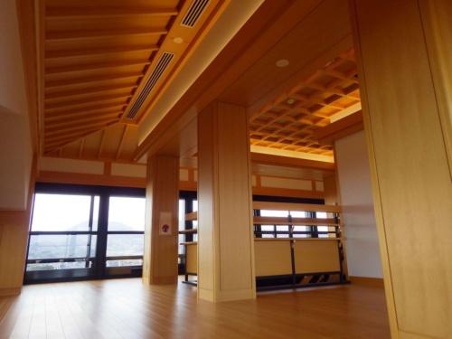 熊本城大天守の6階内観。市は2021年4月26日から天守閣内部の公開を始める(写真:熊本市熊本城総合事務所)