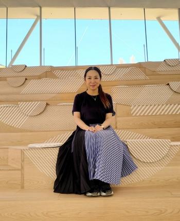 数多くの商業施設を設計してきた永山祐子氏(写真:日経クロステック)