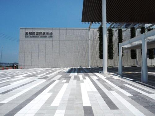 Aichi Sky Expoの外観(写真:日経アーキテクチュア)