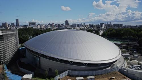 「千葉JPFドーム」の外観(写真:清水建設)