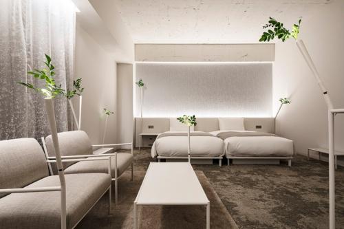 建築家の藤本壮介氏がデザインした部屋(写真:Shinya Kigure)