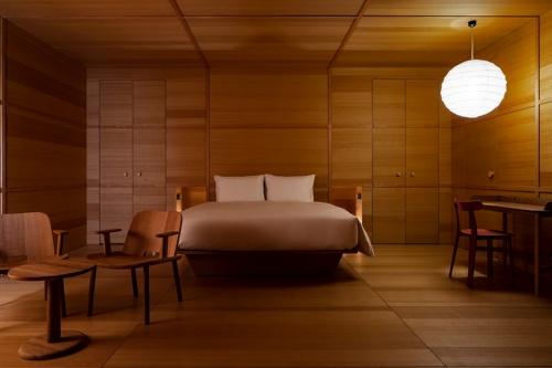 英デザイナーのジャスパー・モリソン氏がデザインした部屋(写真:Shinya Kigure)