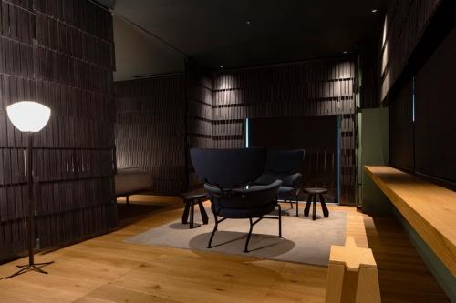 イタリアの建築家、ミケーレ・デ・ルッキ氏がデザインした部屋(写真:Shinya Kigure)