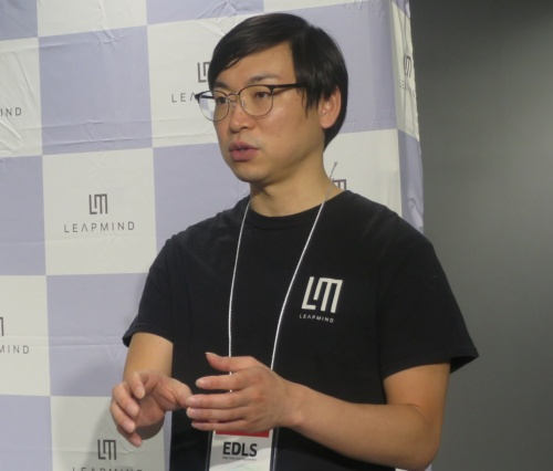 LeapMindの松田総一代表取締役CEO