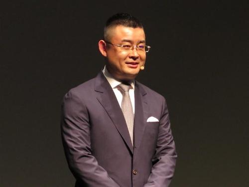 華為技術(ファーウェイ)の呉波ファーウェイデバイス日本・韓国リージョンプレジデント