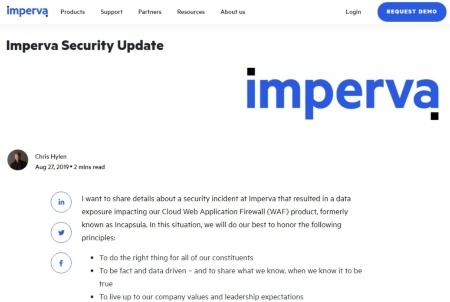 情報漏洩を明らかにした米インパーバ