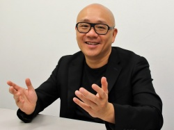 図6  Gogoro創業者で最高経営責任者(CEO)のHorace Luke氏(撮影:日経 xTECH)