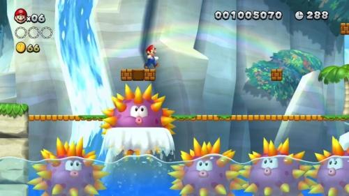Nintendo Switch用ゲーム「スーパーマリオブラザーズU デラックス」(出所:任天堂 (c)2012-2018 Nintendo)