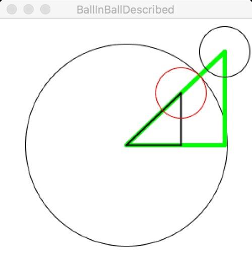 ピタゴラスの定理(三平方の定理)を使った当たり判定のプログラム