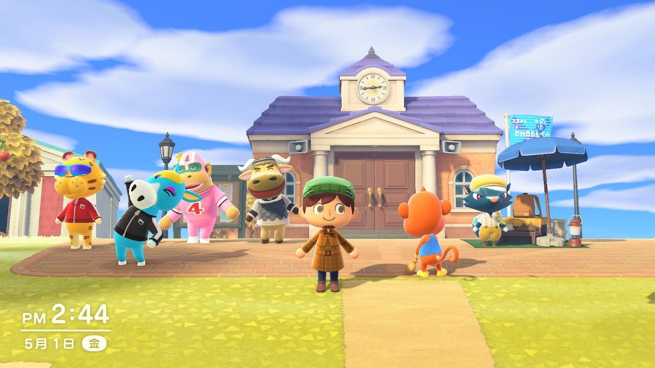 どうぶつたちとともに無人島でスローライフを楽しむ任天堂の「あつまれ どうぶつの森」 発売わずか6週間で累計1341万本を売るなど全世界で爆発的なヒット中。(c)2020 Nintendo