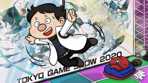 東京ゲームショウでオンライン!(ワイヤ宙づり)