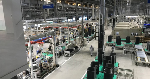 2018年6月から稼働を始めた最新工場であるダイキン堺製作所 臨海工場 新1号工場