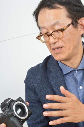 ニコン 映像事業部 デザイン部長 橋本信雄氏