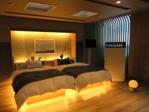 """パナソニックが他社との協業に向けた施設「& Panasonic」に開設した""""究極の寝室"""""""