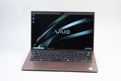 VAIO SX14は狭額縁のスタンダードモバイルだ
