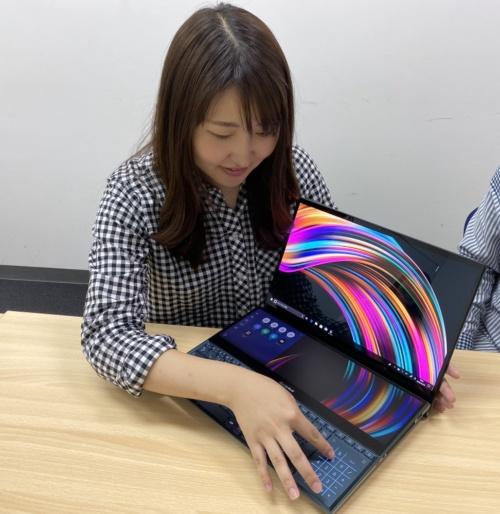 ASUS JAPANシステムプロダクトマーケティング マーケティングスペシャリストの熊谷歩美氏