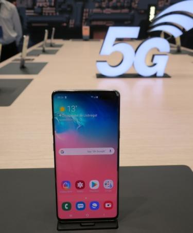 韓国サムスン電子の5Gスマホ「Galaxy S10 5G」
