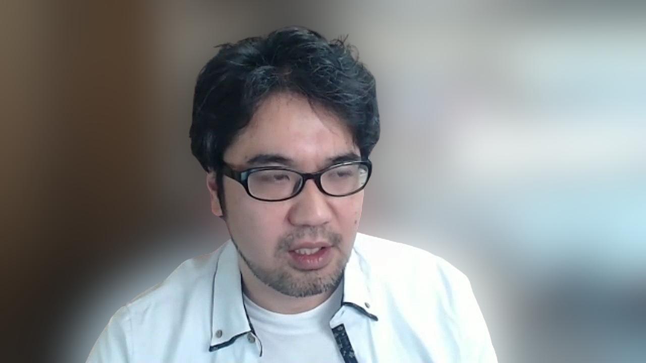 マーケティング面を担当する中島浩則さん (出所:Web会議による取材時にキャプチャー)
