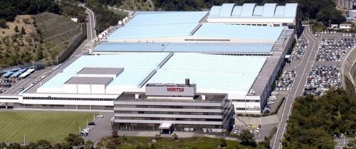 WInCが入っているノーリツプレシジョンの本社ビル(写真手前)