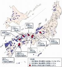 2018年7月の西日本豪雨で洪水を調節したダム