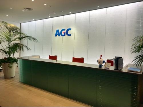 図 AGCのガラス製品の使用例(中)