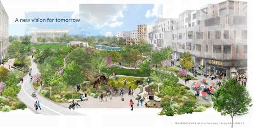 「Google Middelefield Park」の完成予想図