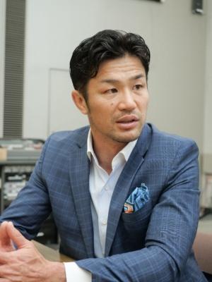 元ラグビー日本代表キャプテンで、現在はラグビーワールドカップ2019アンバサダーの廣瀬俊朗氏。高校、大学、社会人、日本代表のいずれにおいてもキャプテンを務めた。現在は、スポーツの普及と教育に重点的に取り組んでいる