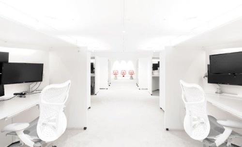 集中して作業に没頭し、生産性を高める部屋「R&Dルーム」の全景