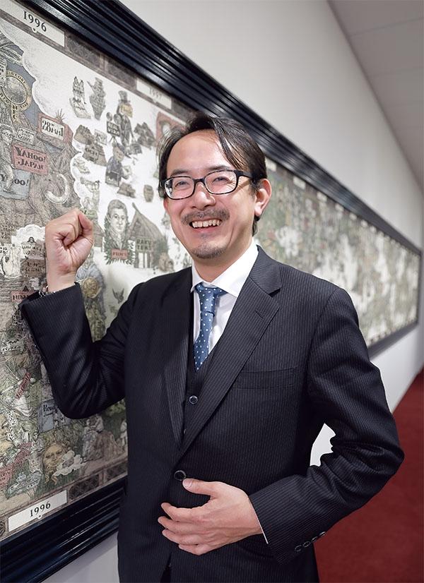 18年6月にヤフー社長に就任した川辺健太郎氏