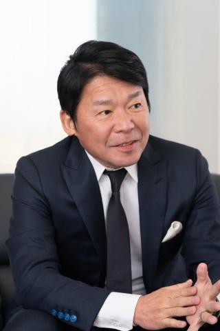 カプコンの辻本春弘代表取締役社長 最高執行責任者(COO)