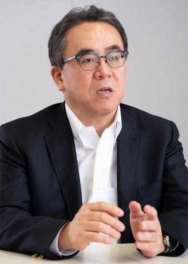 スクウェア・エニックスの松田洋祐社長