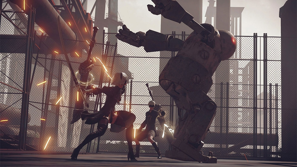 『NieR: Automata』(PS4版)(C) 2017 SQUARE ENIX CO., LTD. All Rights Reserved.