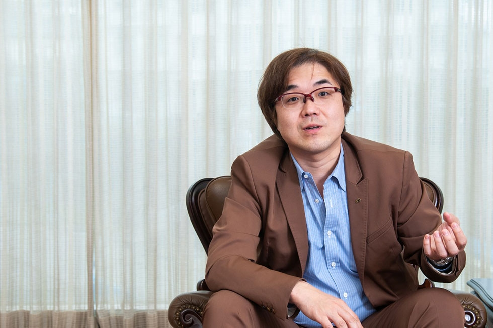 コーエーテクモゲームスの鯉沼久史社長