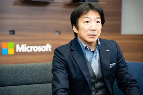 日本マイクロソフト執行役員常務 コンシューマー&デバイス事業本部長の檜山太郎氏