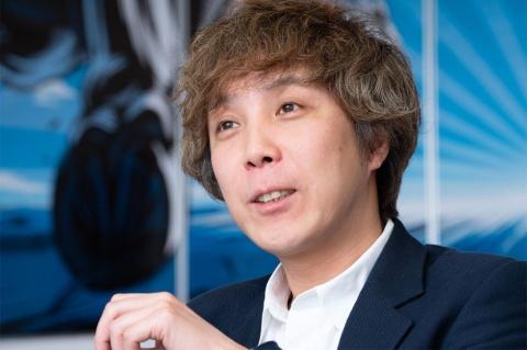 コロプラの森先一哲取締役 CCO(チーフ・クリエイティブ・オフィサー)