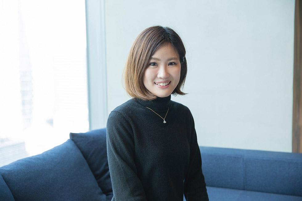 LINEゲーム事業を管轄する執行役員の奥井麻矢氏