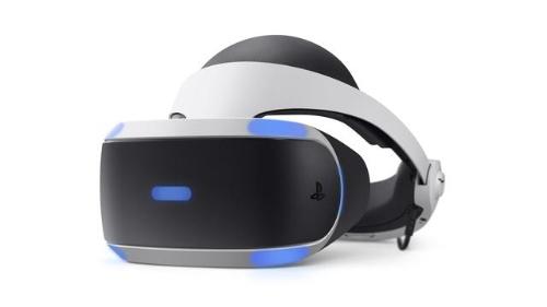 現行モデルのPlayStation VRのヘッドセット「CUH-ZVR2」