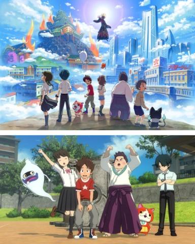 2019年 6月20日に発売された『妖怪ウォッチ4 ぼくらは同じ空を見上げている』 (C)2019 LEVEL-5 Inc.