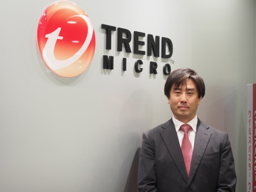 トレンドマイクロ ビジネスマーケティング本部エンタープライズソリューション部の宮崎謙太郎部長