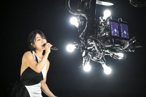 宇多田ヒカルさんのVR映像の撮影風景