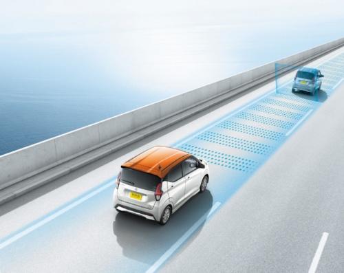 図1 日産自動車の軽自動車「デイズ」は「レベル2」の自動運転に対応